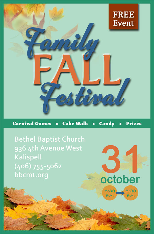 Family Fall Festival Graphic